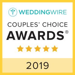 Blue Sky Celebrations, WeddingWire Couples' Choice Award Winner 2019